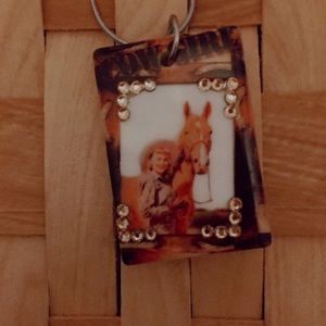 Horse and girl necklaces